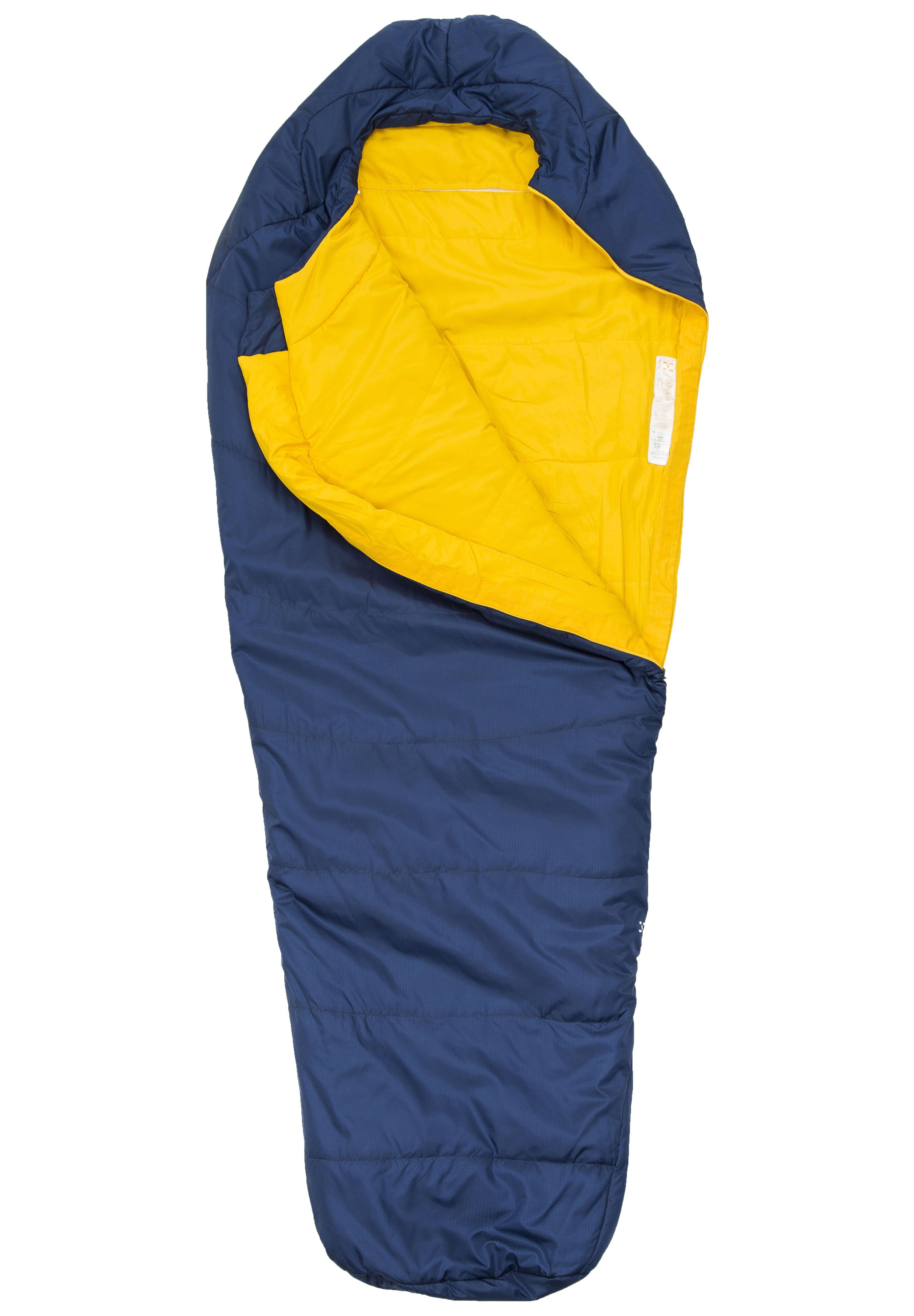 Haglöfs Tarius +6 Sleeping Bag 175 cm Hurricane Blue ...